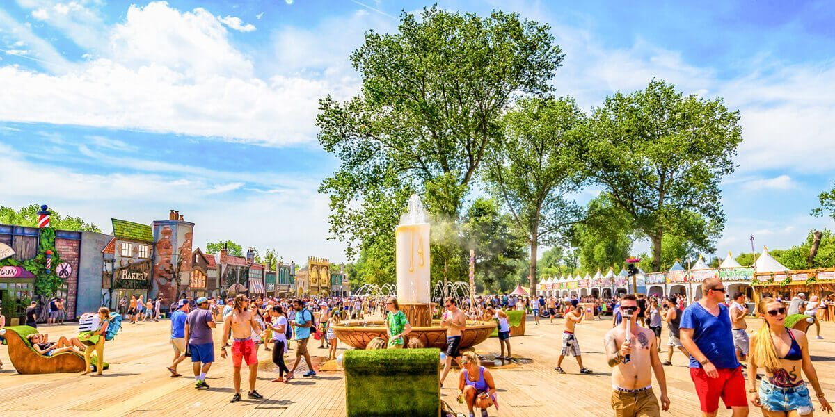 Festival Glamping: DreamVille glamping Tomorrowland