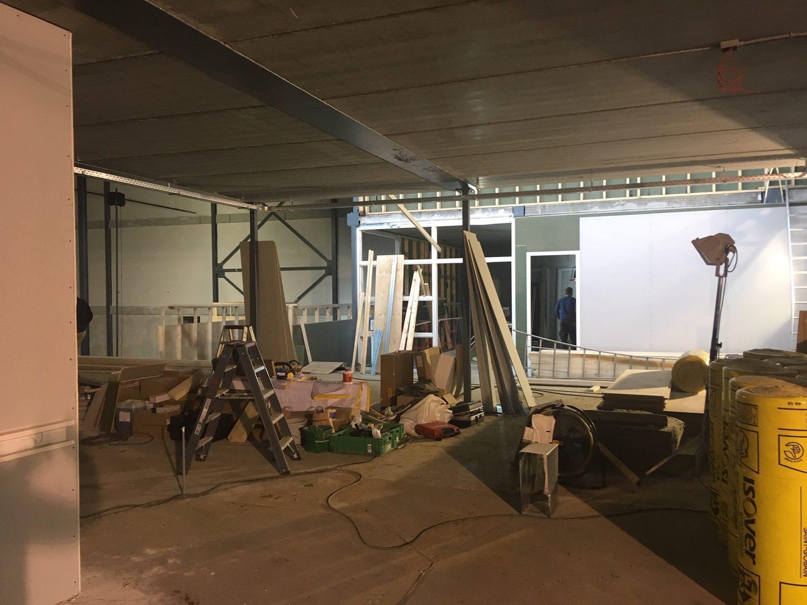 Bouw indoor speeltuin Vakantiepark Assen