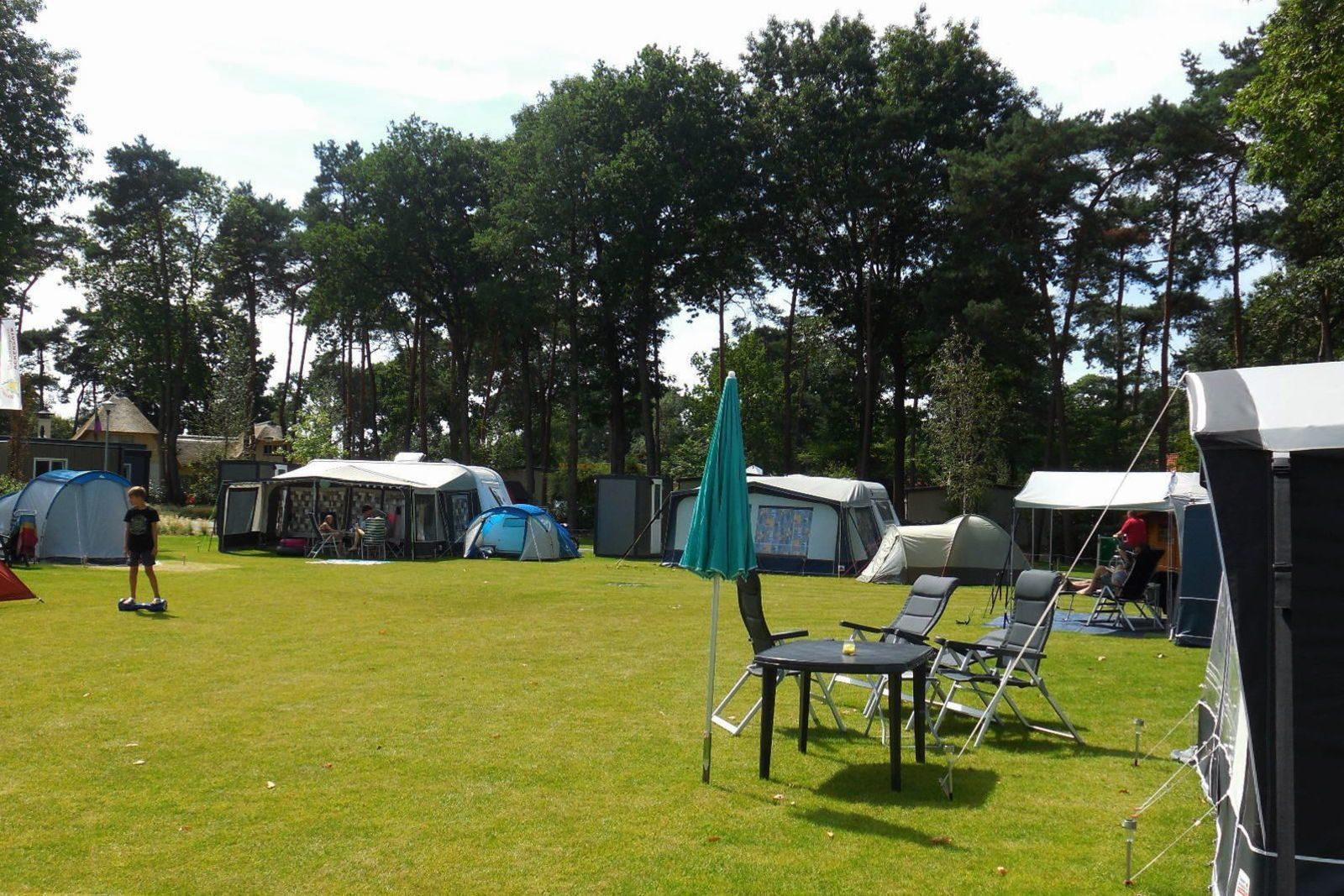 Camping met prive sanitair Veluwe