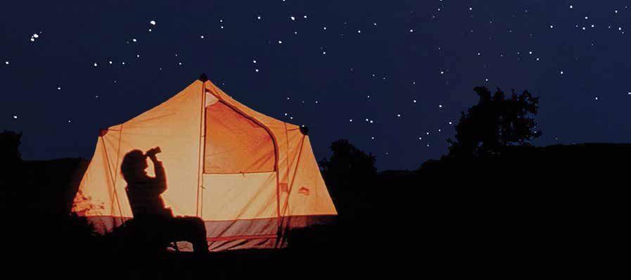 Camping Zeeburg houdt van:  Sterren kijken