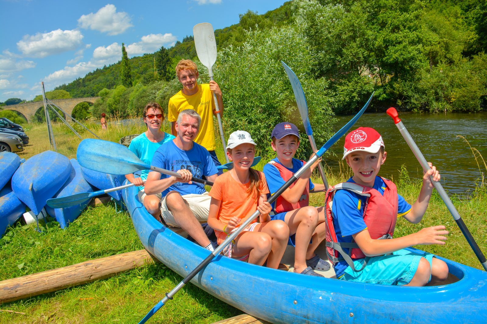 canoeing at Walsdorf