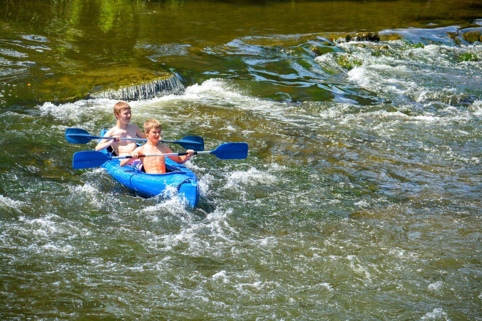 kanoën op Walsdorf