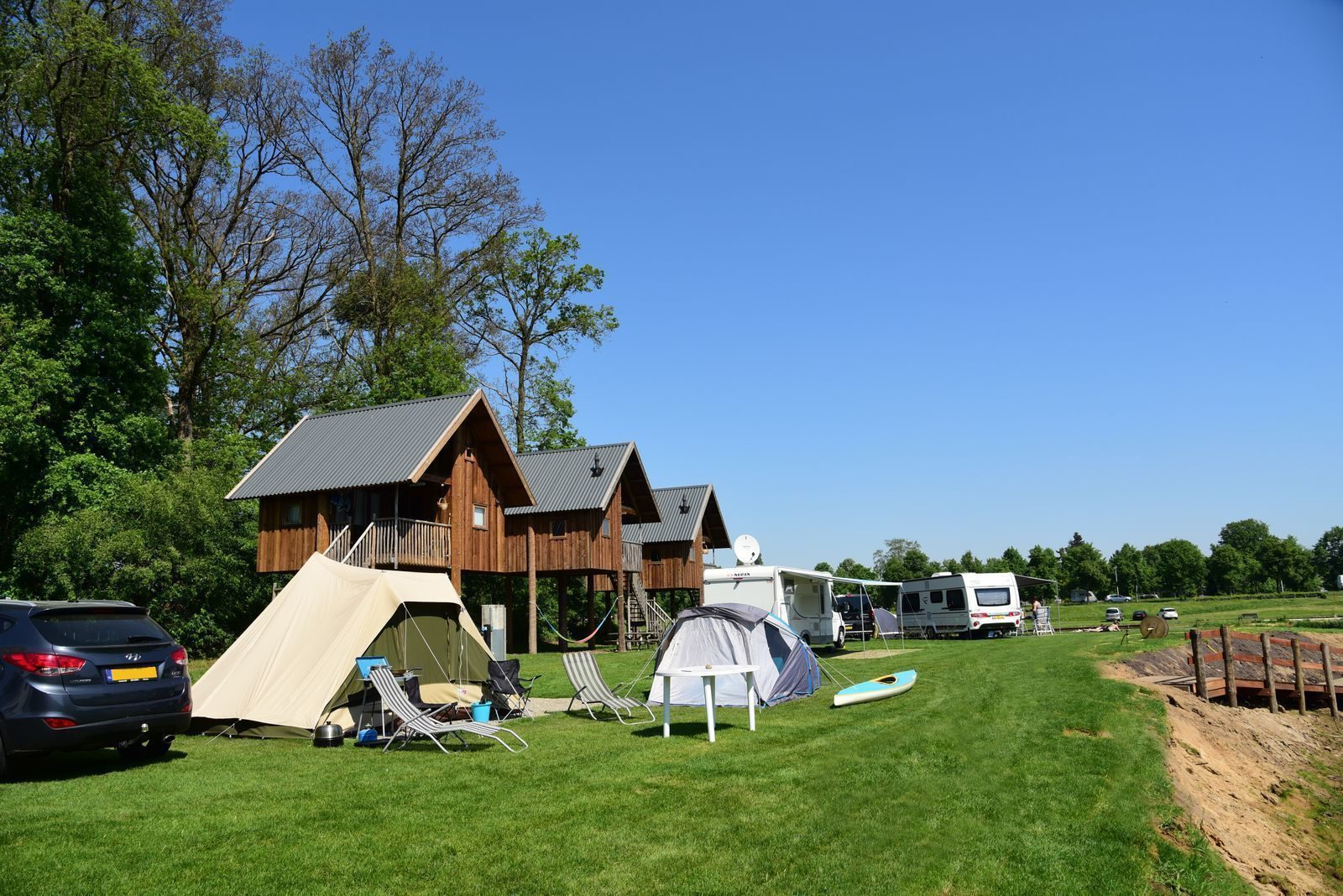 Accommodaties Camping Ommen