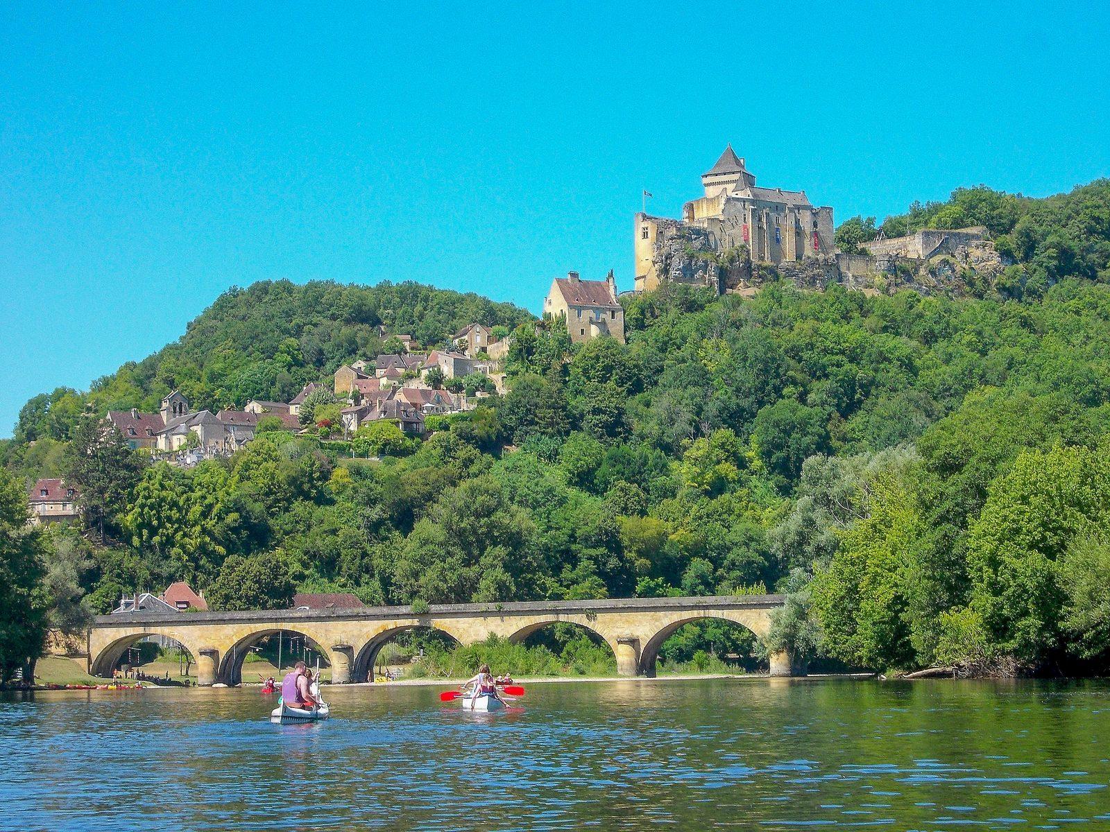 Canoeing La Draille