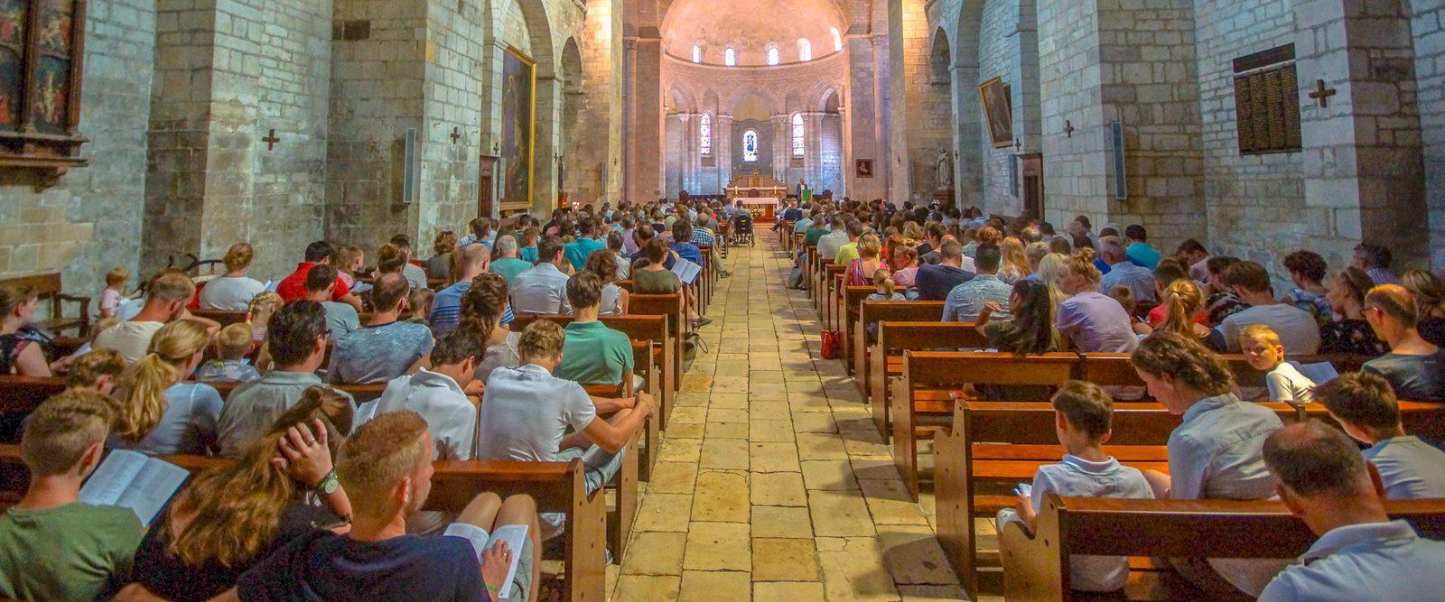 Kathedraal Souillac kerkdienst Beter Uit