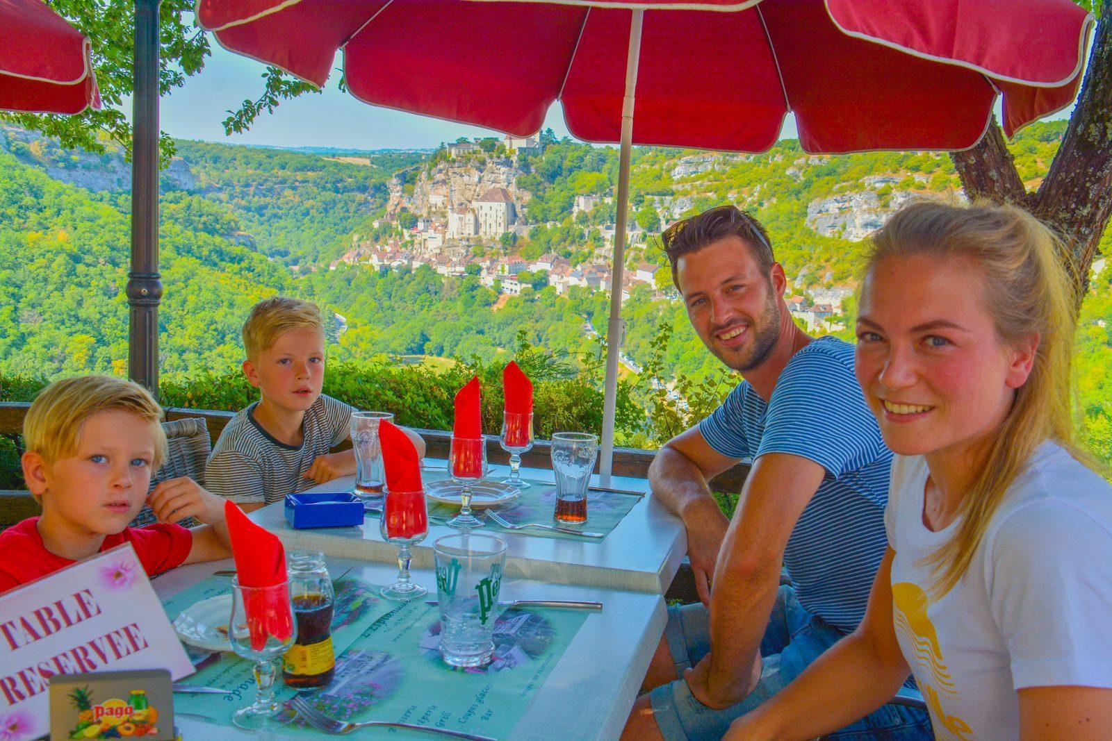 Rocamadour dichtbij Beter Uit vakantiepark La Draille