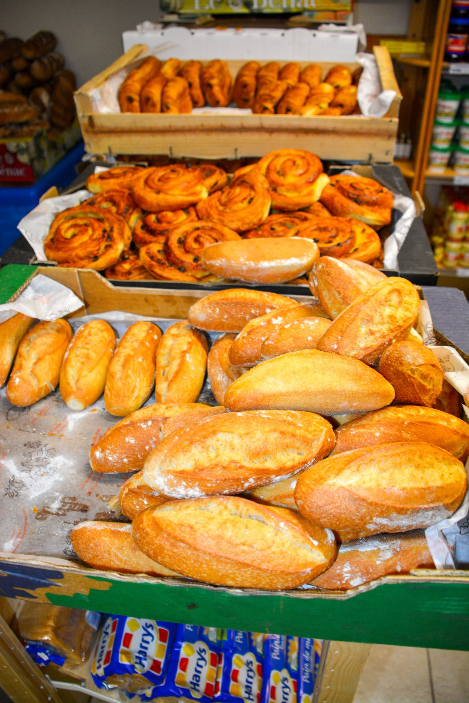 Parkwinkel Luxemburg Walsdorf broodjes