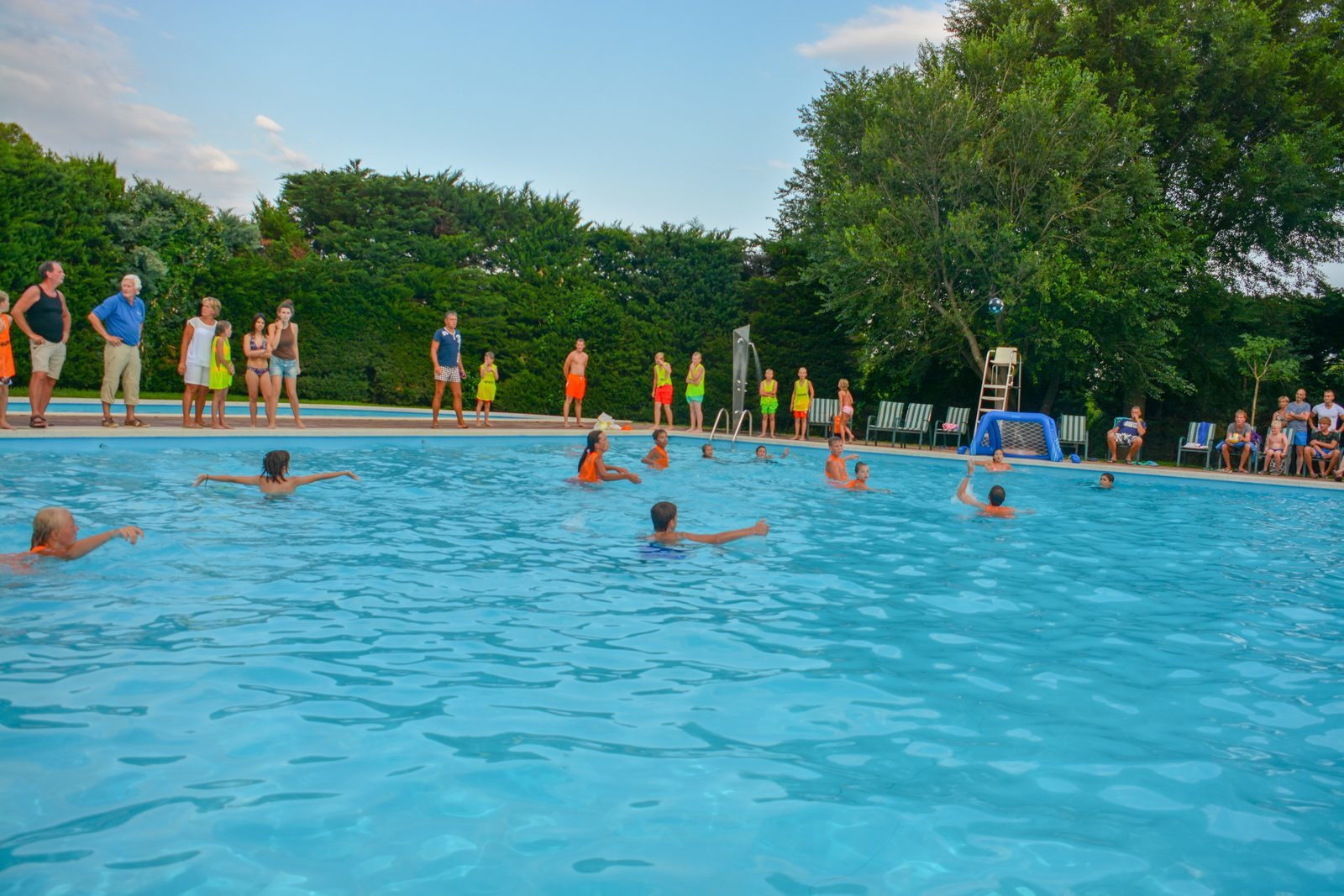 Waterpolo op Vell Emporda