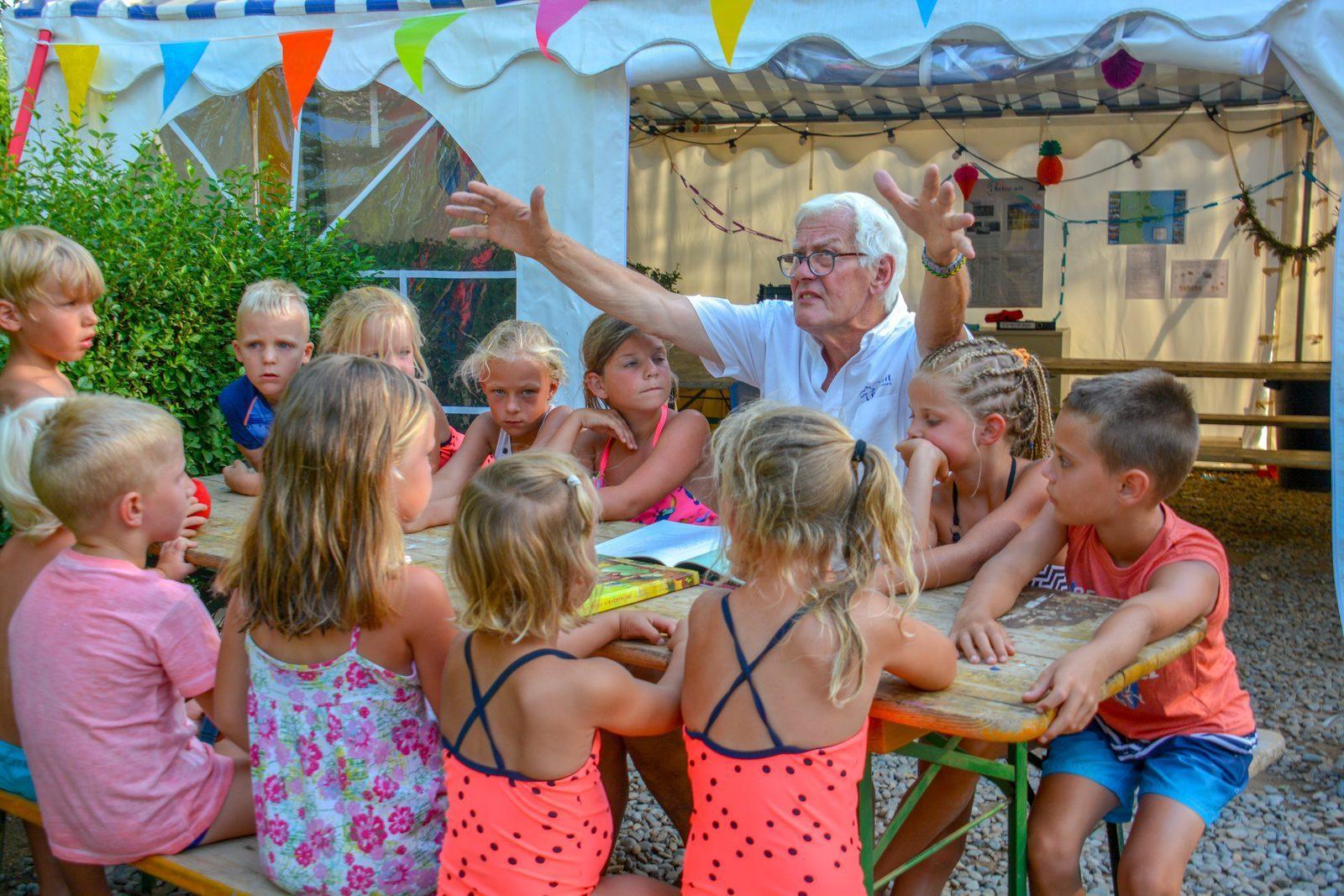 Kinderland met verhaal op Vell Emporda