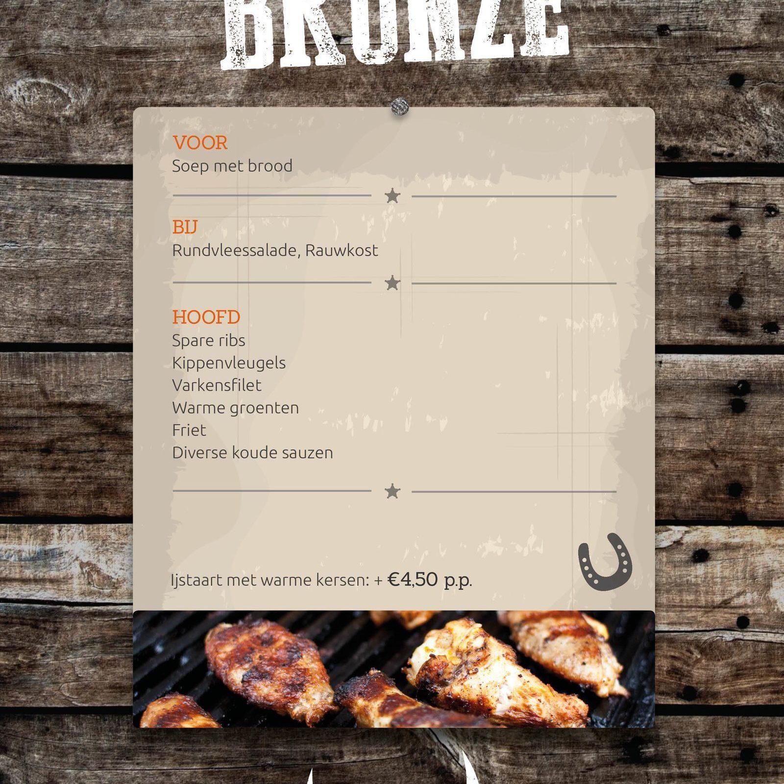 Wild West Bronze bij Events op de Veluwe in Voorthuizen