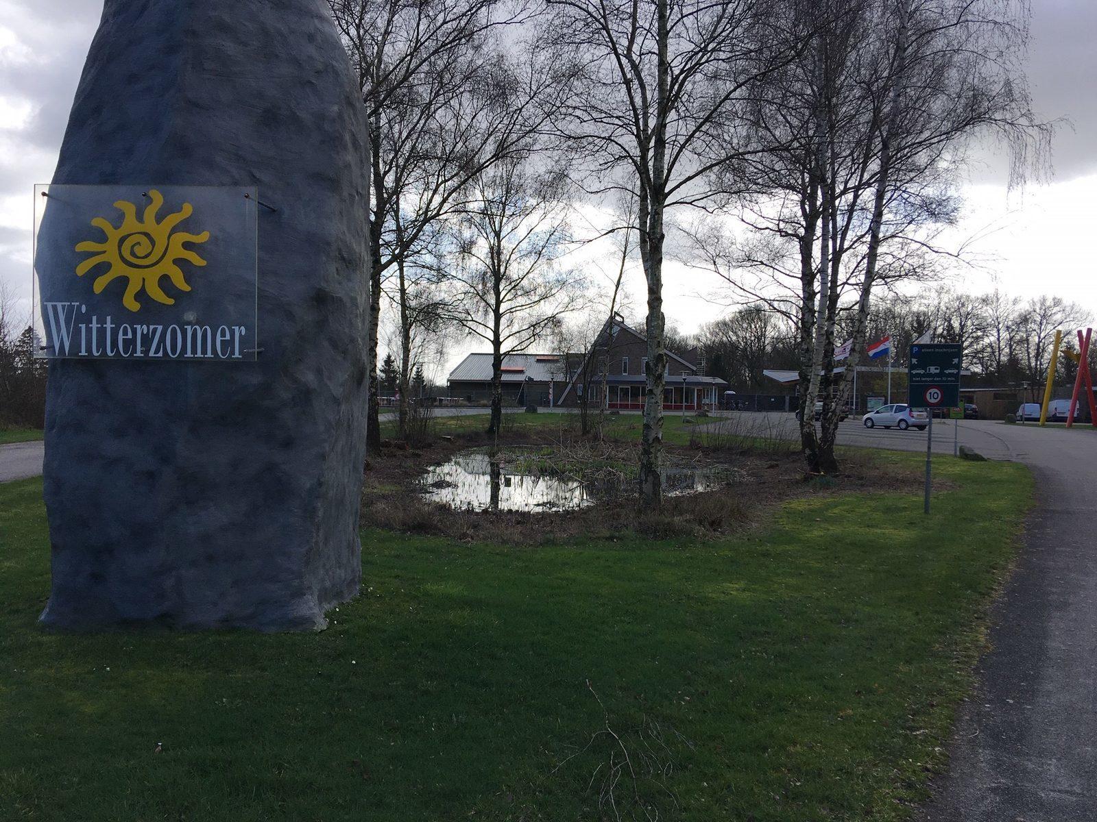 Vijver vakantiepark Assen
