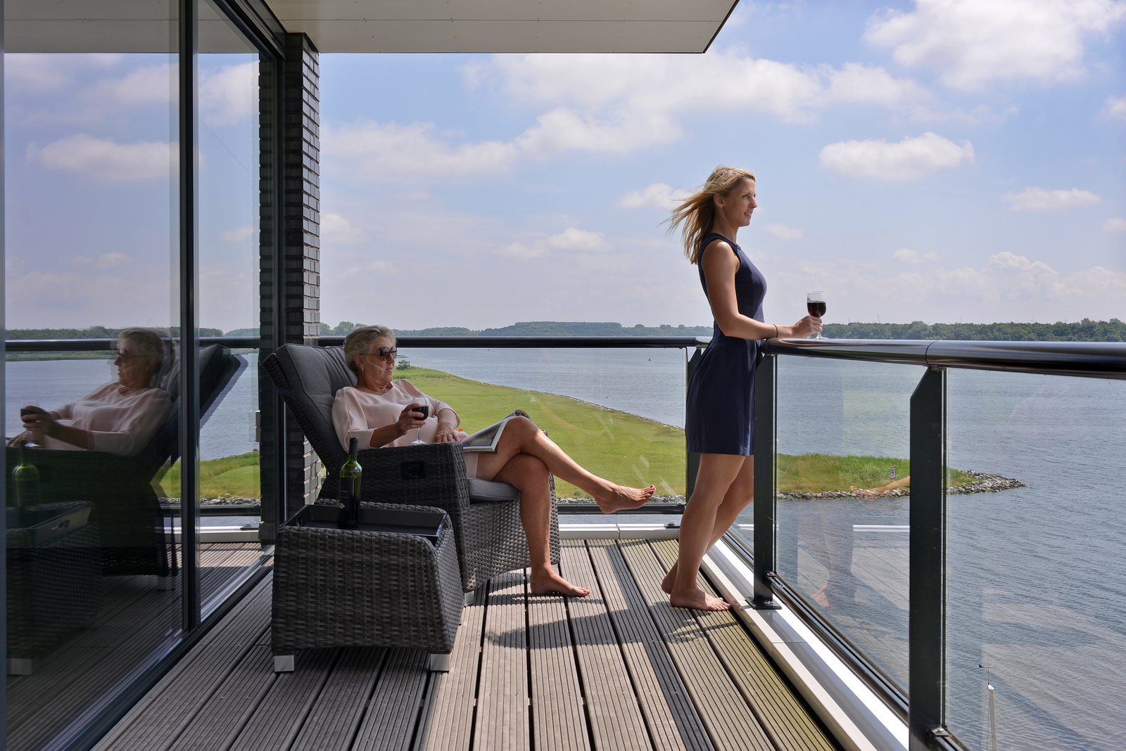 Luxury apartments in Zeeland along the Veerse meer