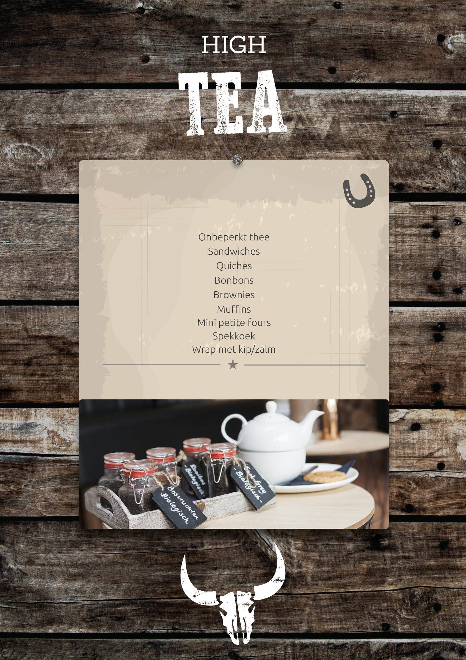 High tea in Voorthuizen
