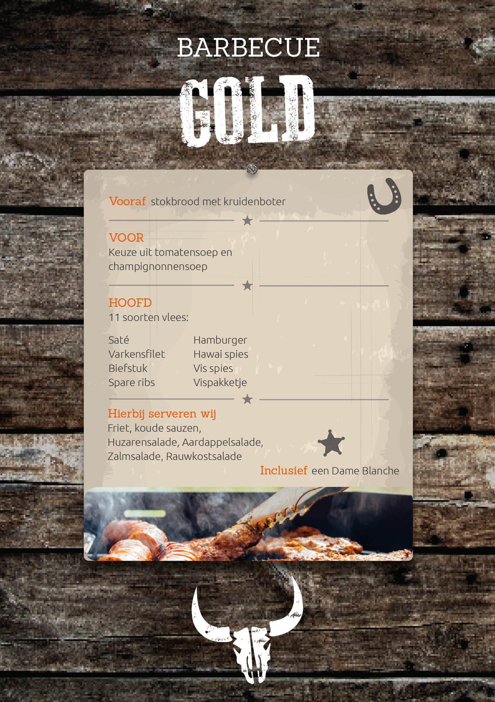 BBQ Gold bij Recreatiepark De Boshoek in Voorthuizen