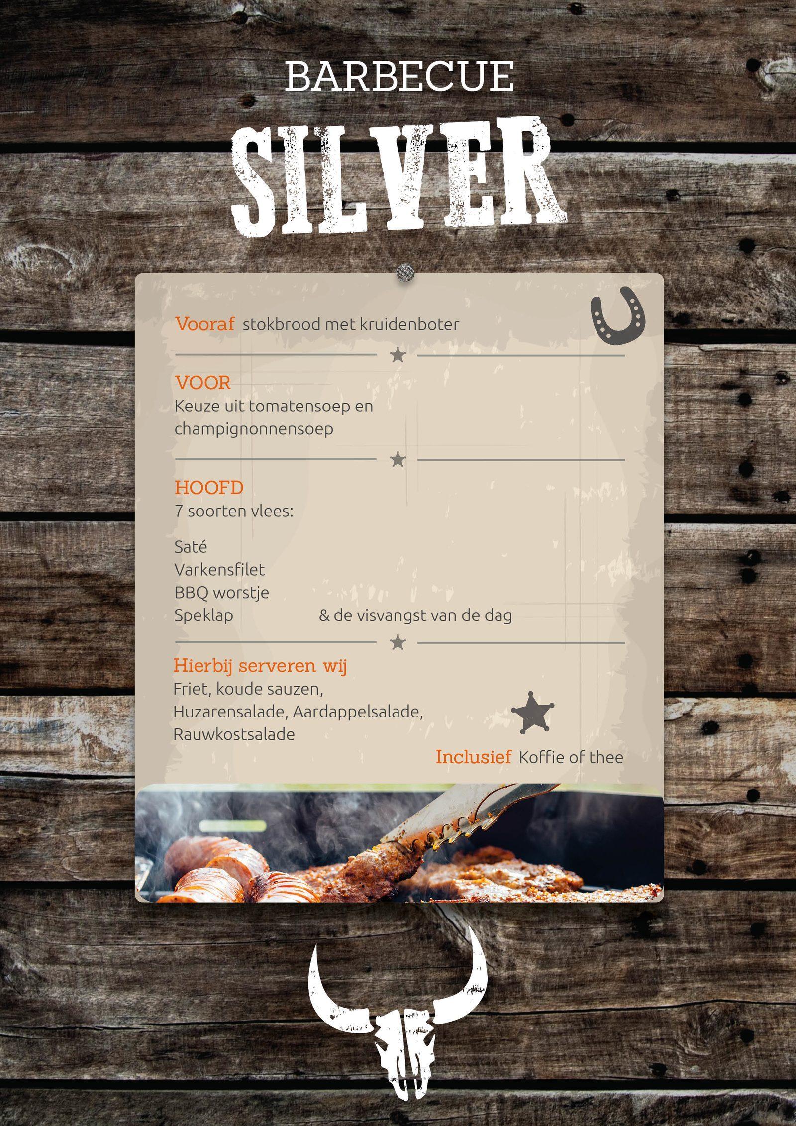BBQ Silver bij Recreatiepark De Boshoek in Voorthuizen