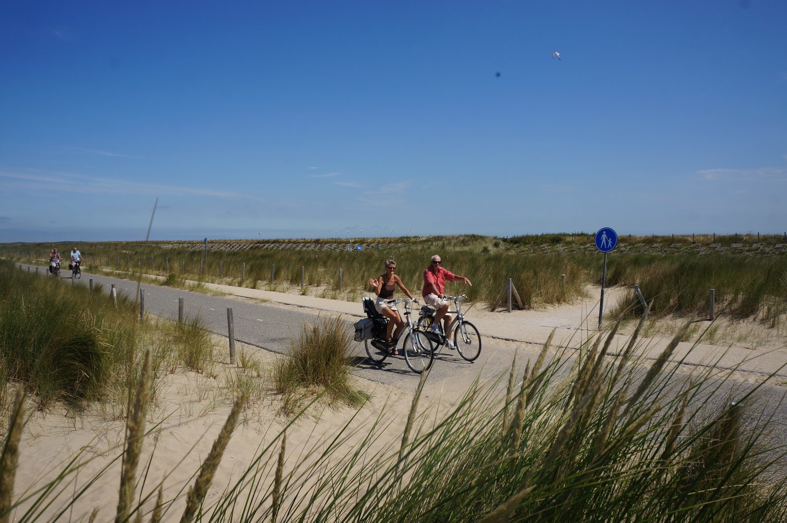 Cycling at the dunes