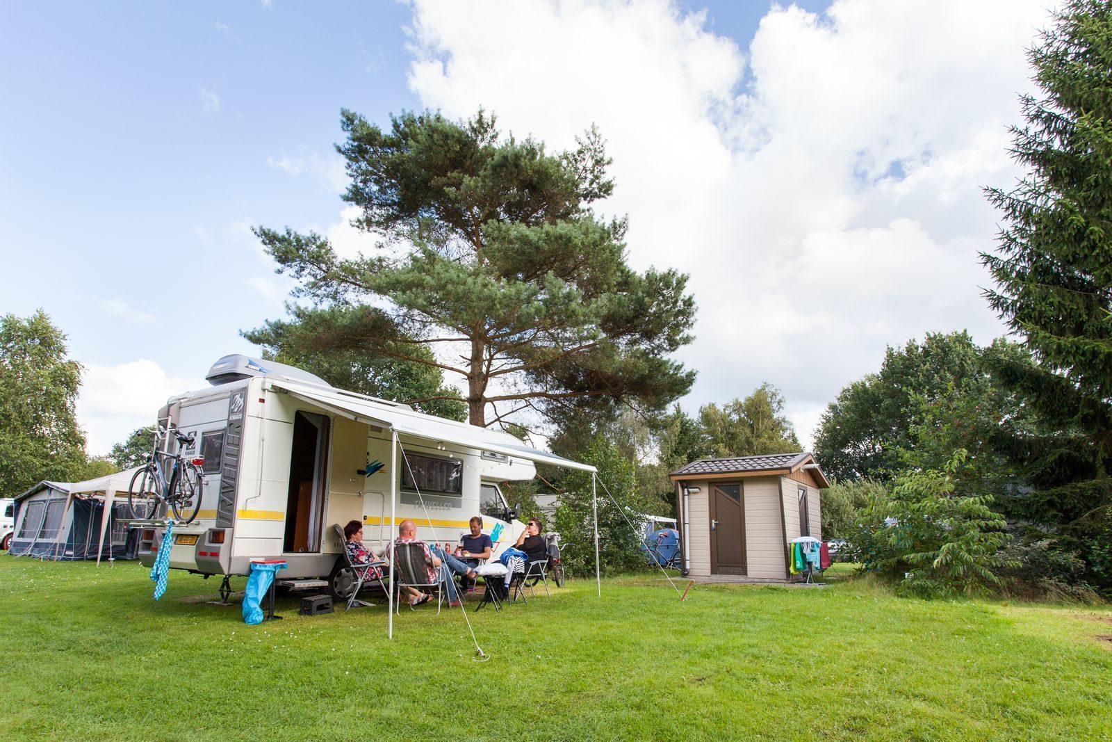 Camping met prive sanitair Drenthe