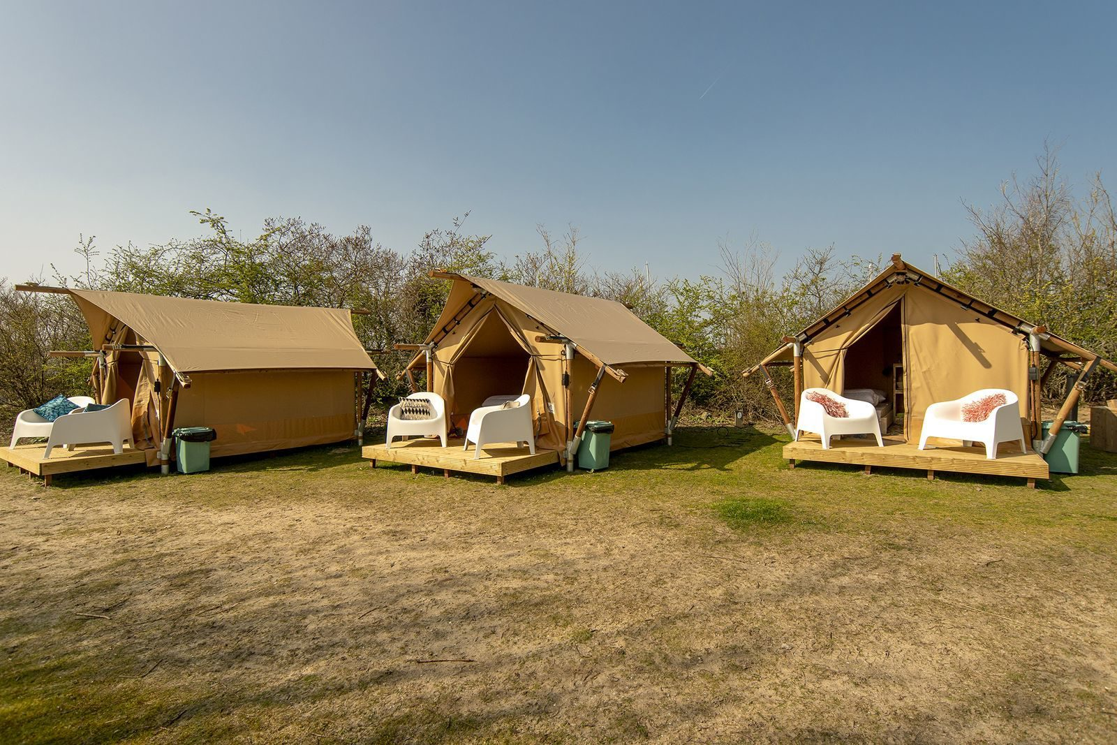 Safari Tents Marina Parcs