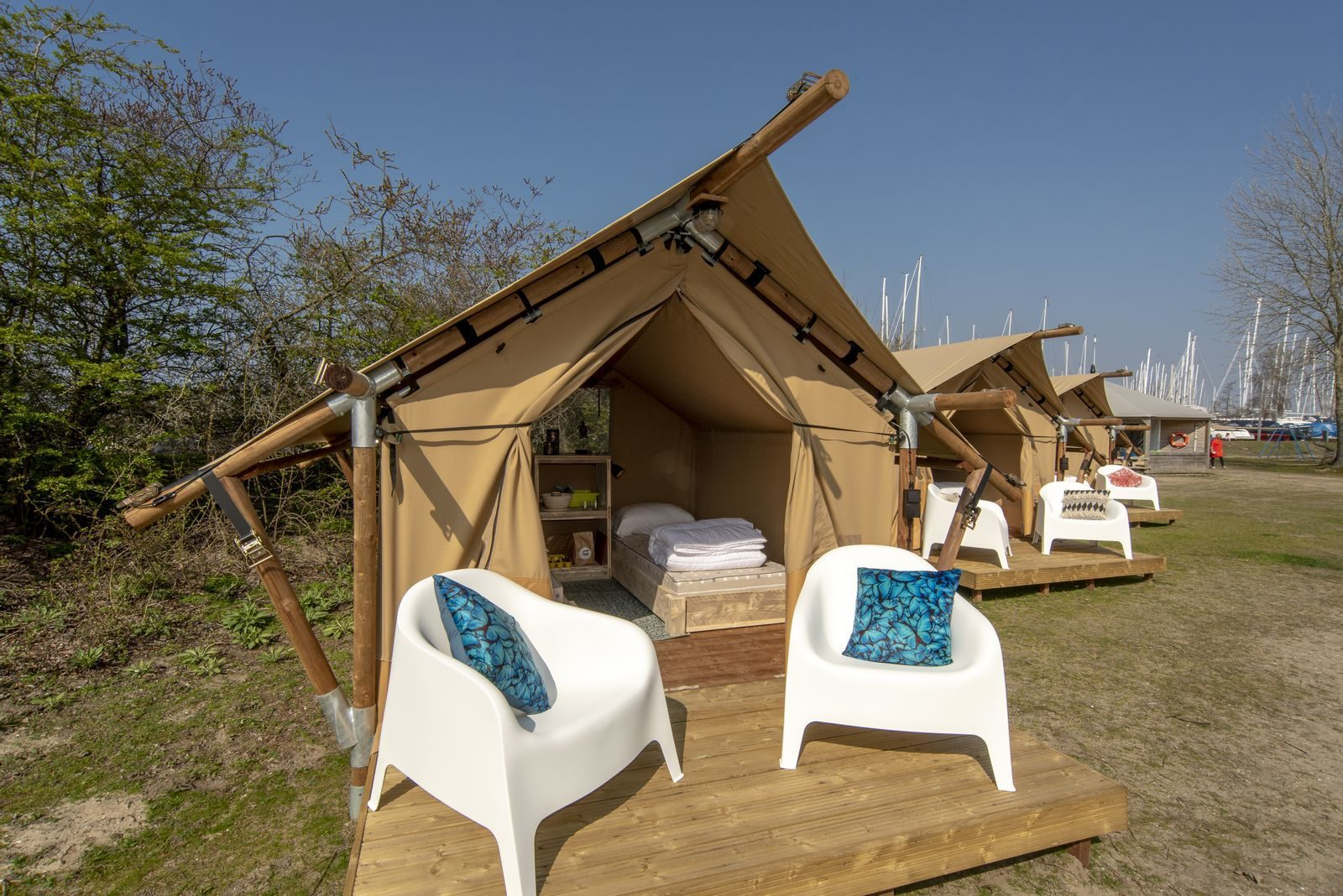 Glamping the Netherlands