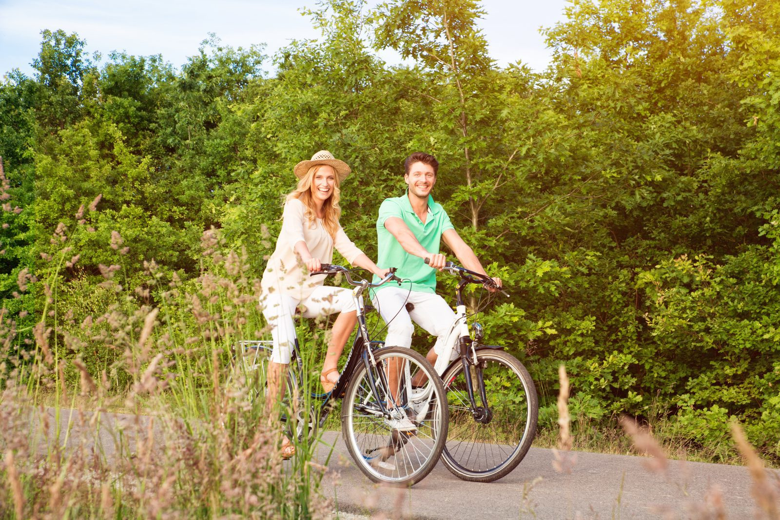 Bicycle- and kart rental service