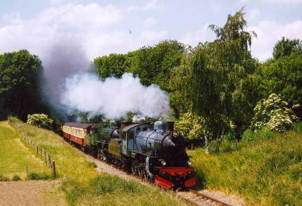 The Southern Limburg steam engined train company