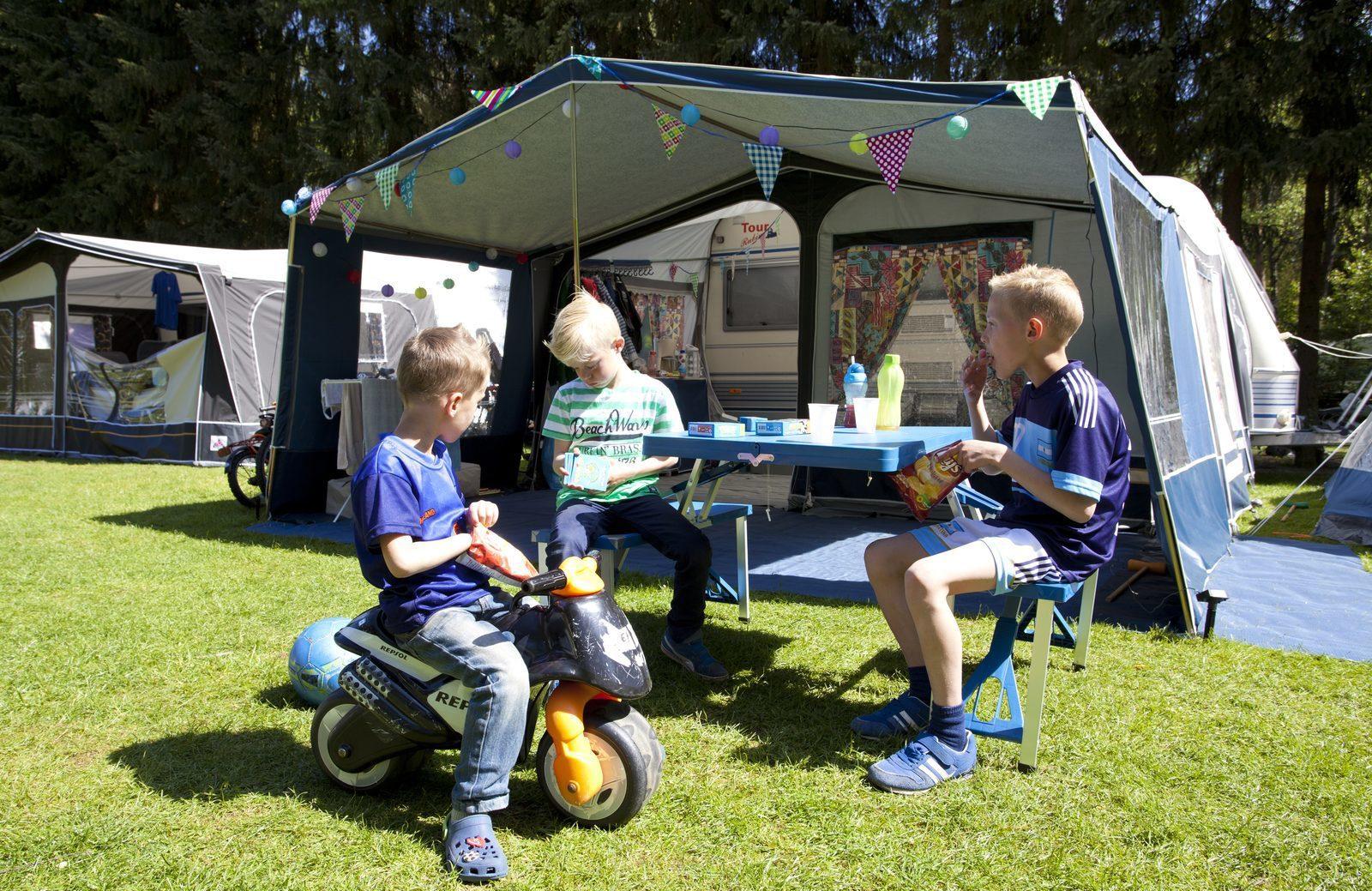 Camping au parc de vacances 't Gelloo