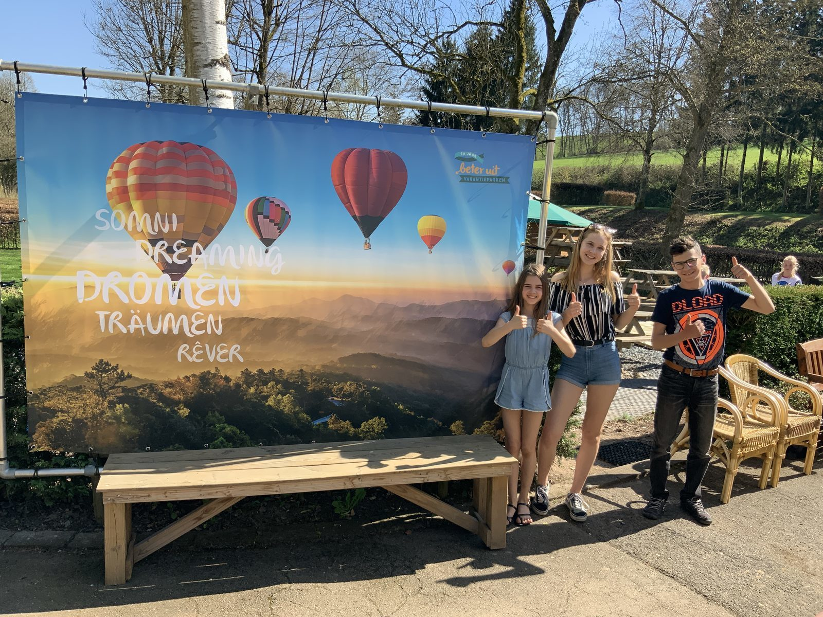 Thema banner op Walsdorf