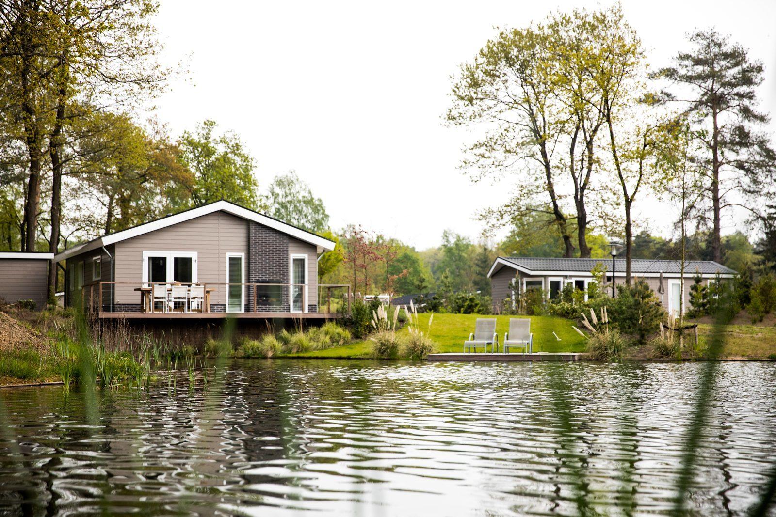 Ein Ferienhaus am Wasser