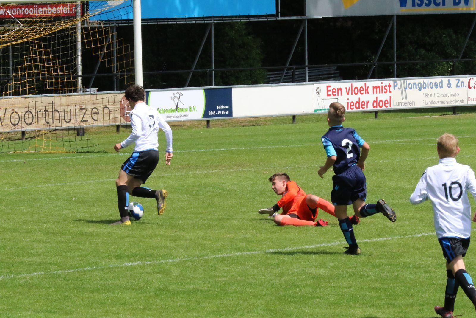 Le tournoi de football moins de 14 ans de TopParken remporte un franc succès!