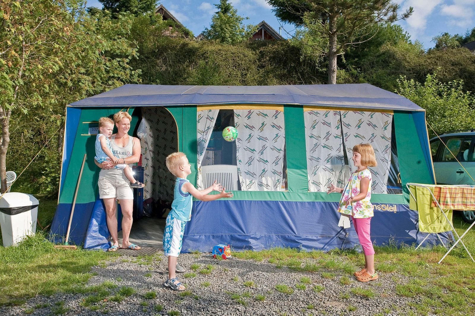 Tent rental Ardennes