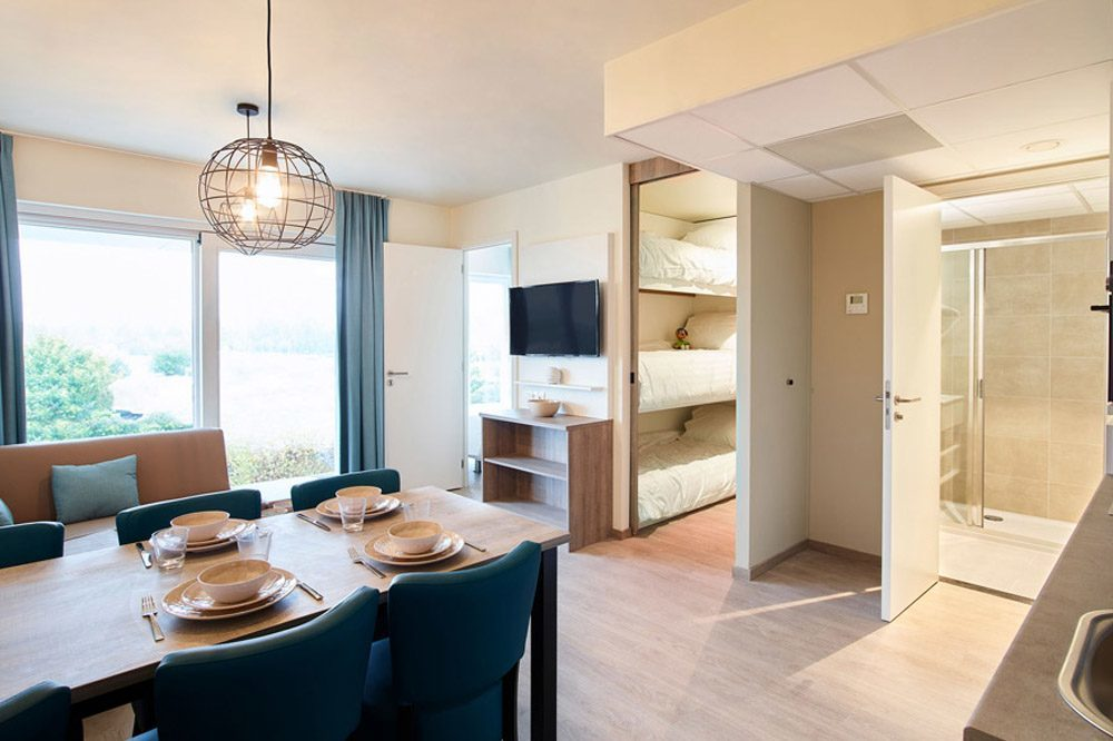 Holiday Suite for 5 people in Nieuwpoort