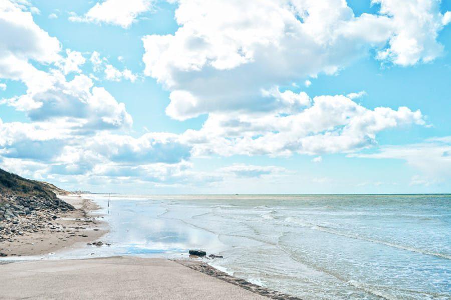 La plage d'Équihen