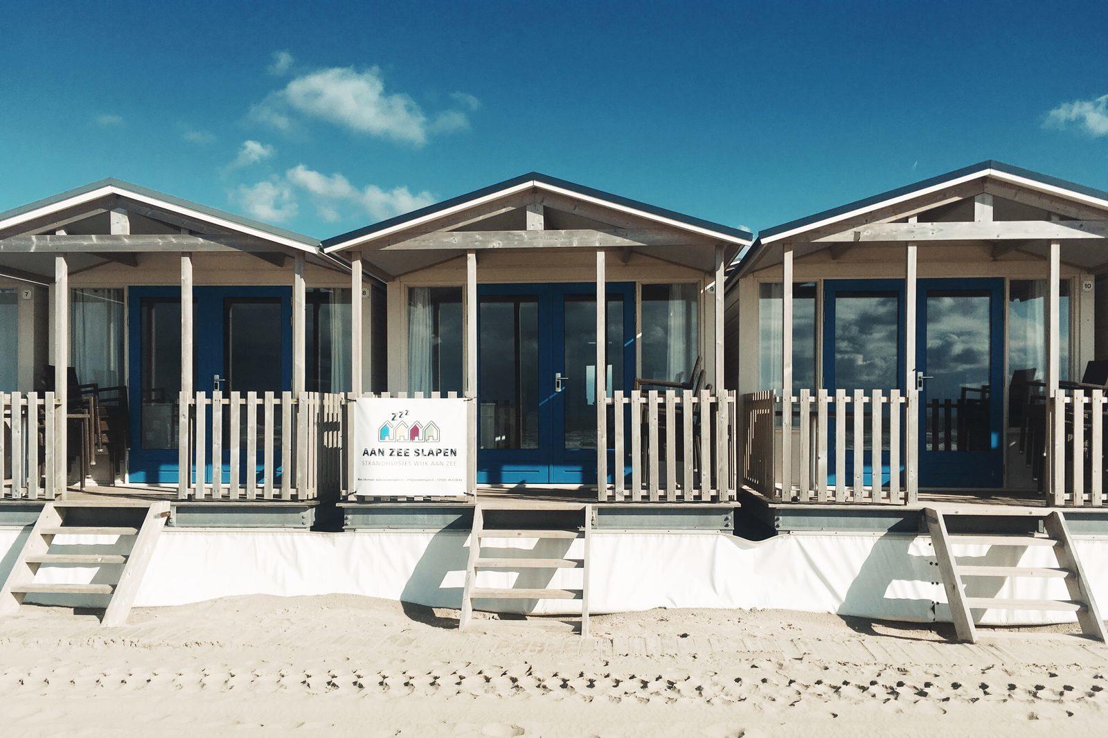 Strandhäuser Wijk aan Zee