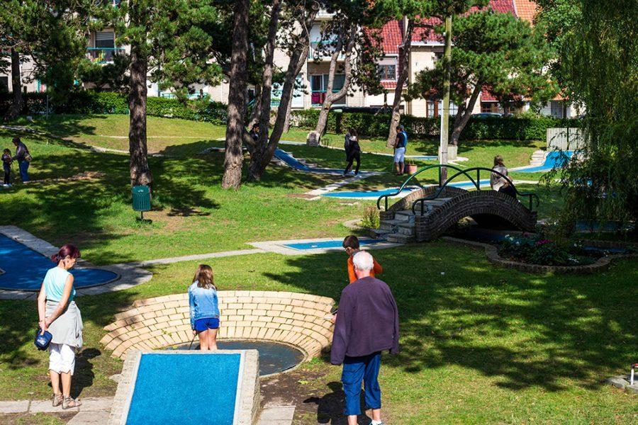 Minigolf en Tennis Bray-Dunes