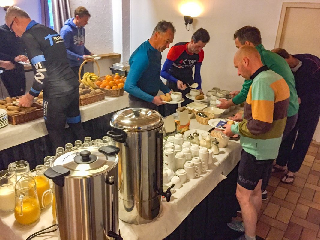 Groepen Walsdorf ontbijt