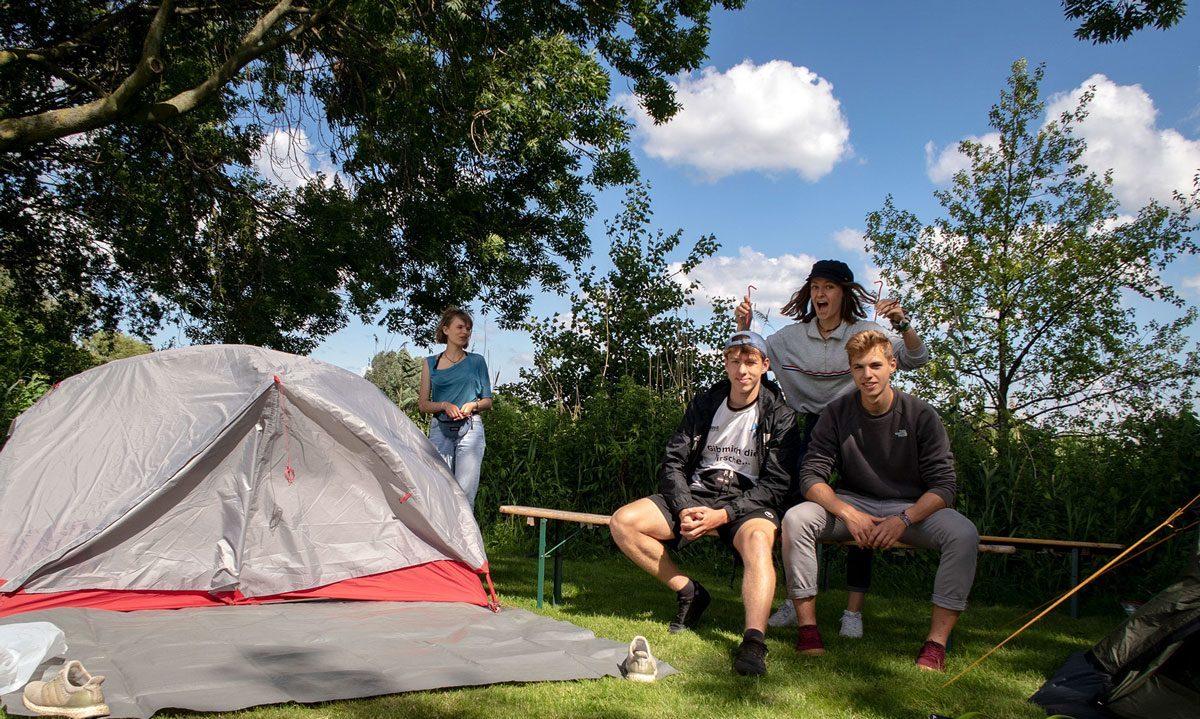Camping Zeeburg Too Amstesrdam Flevopark