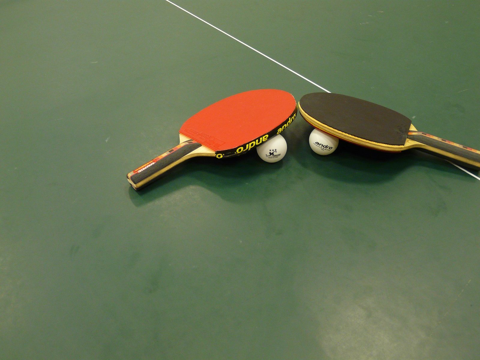 Table tennis table