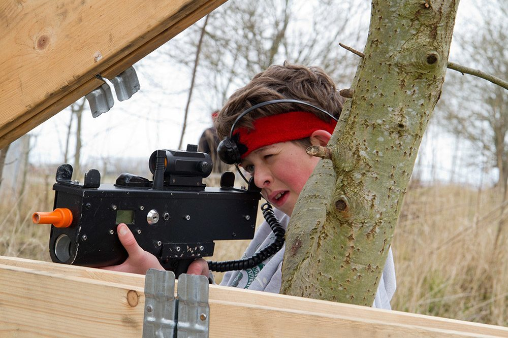 Laserbattle Nieuwpoort