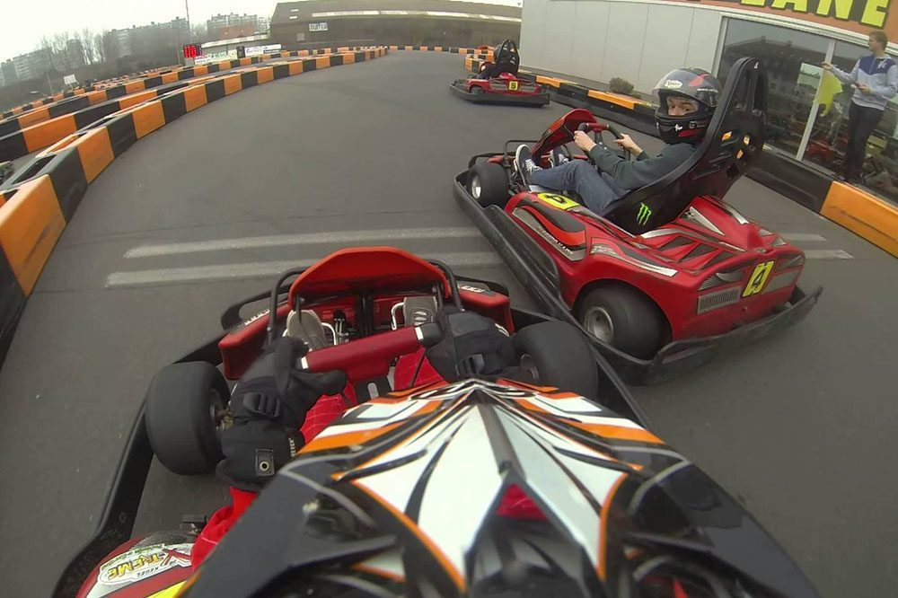 Kegel X-treme karting
