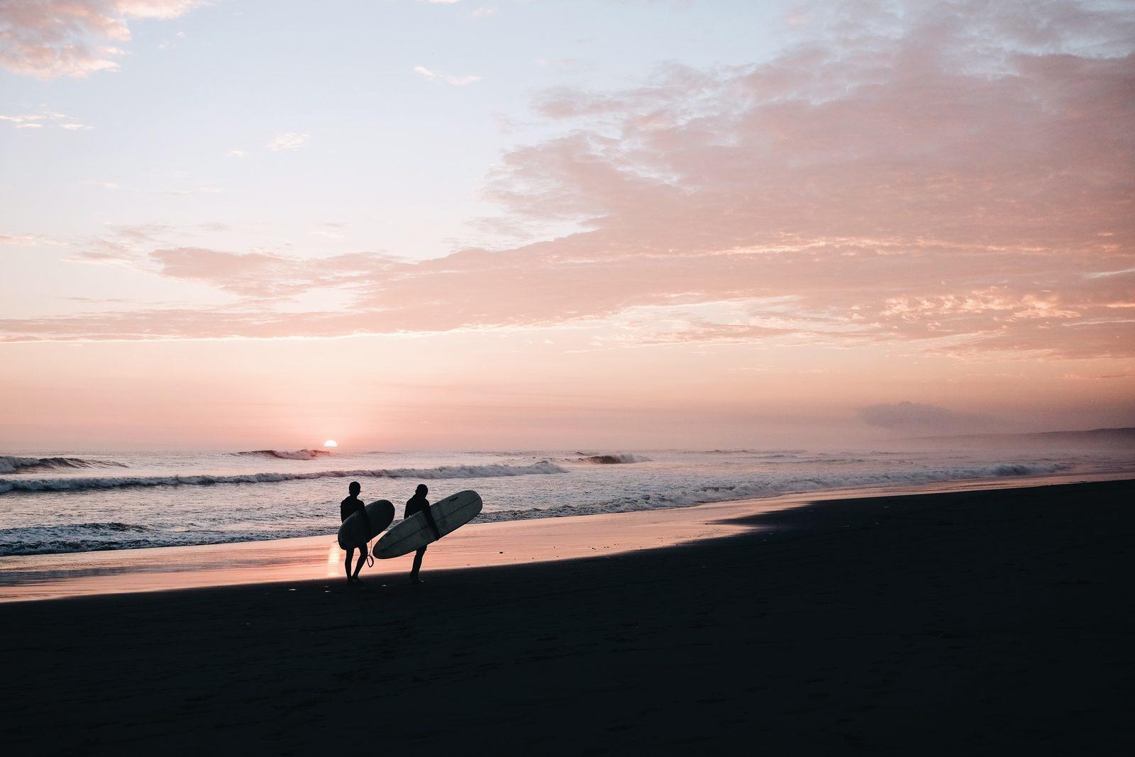 Surfen Sie in Wijk aan Zee
