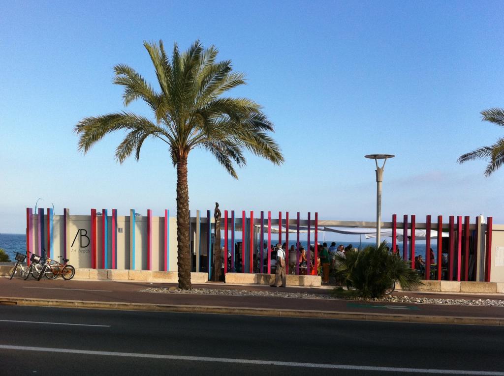 Art Beach in Cagnes-sur-Mer