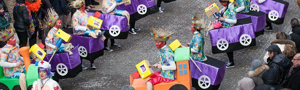 Carnaval kindjes Aalst