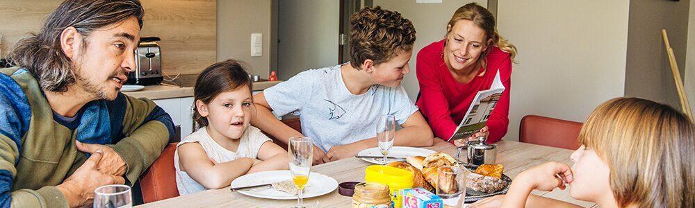 Petit déjeuner à Holiday Suites Westende
