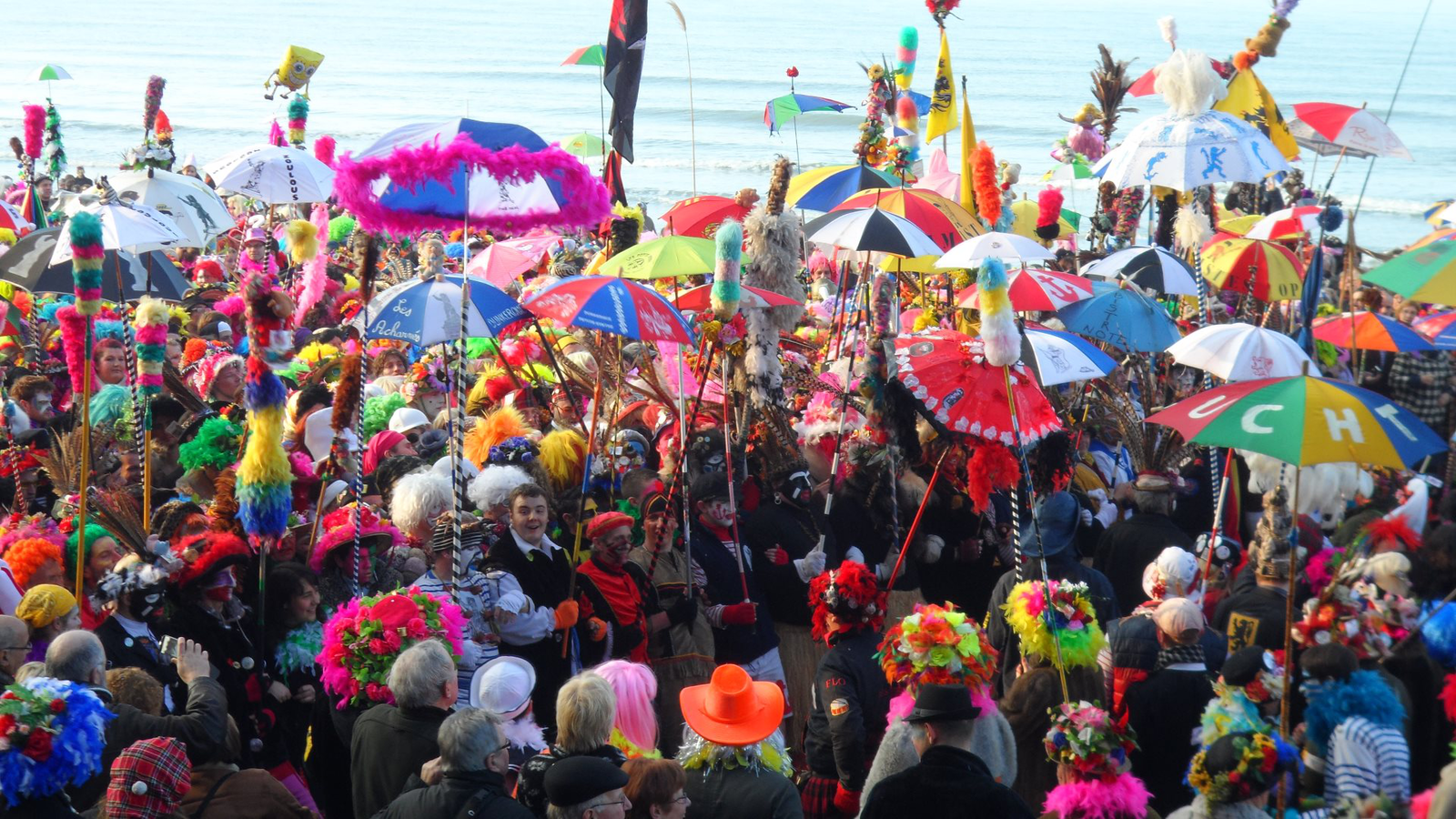 Duinkerke: the place to be om carnaval te vieren!