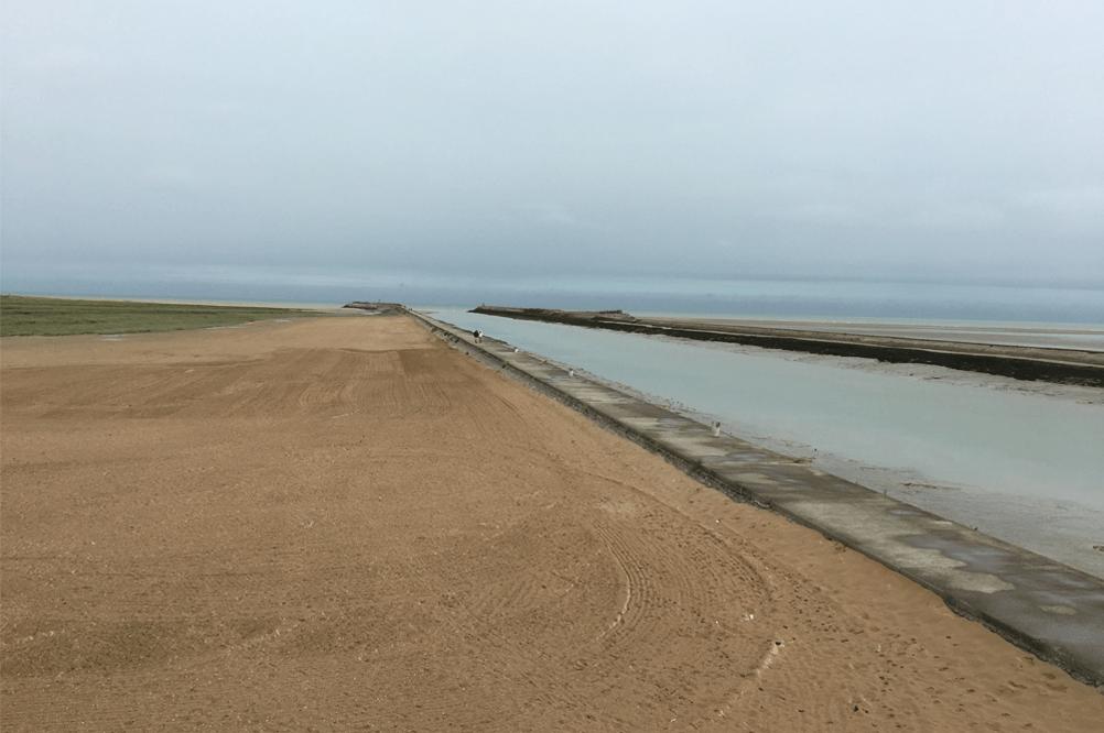Oye-Plage Strand