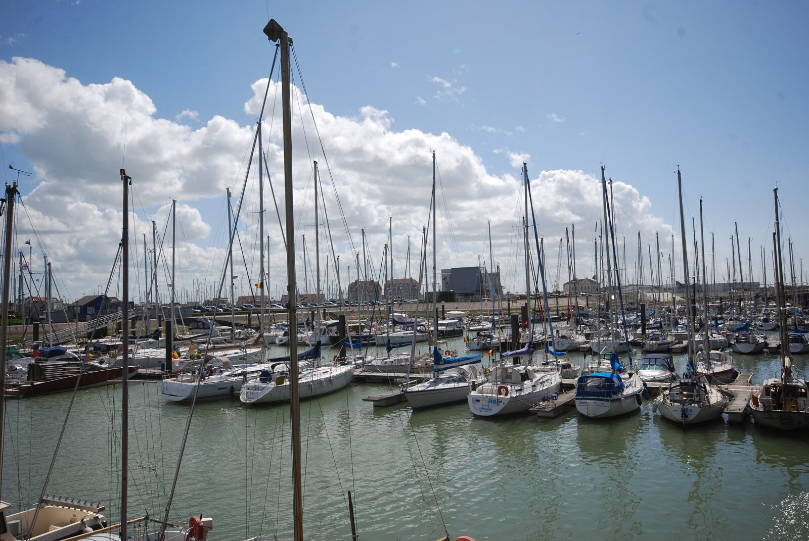 The harbour of Blankenberge