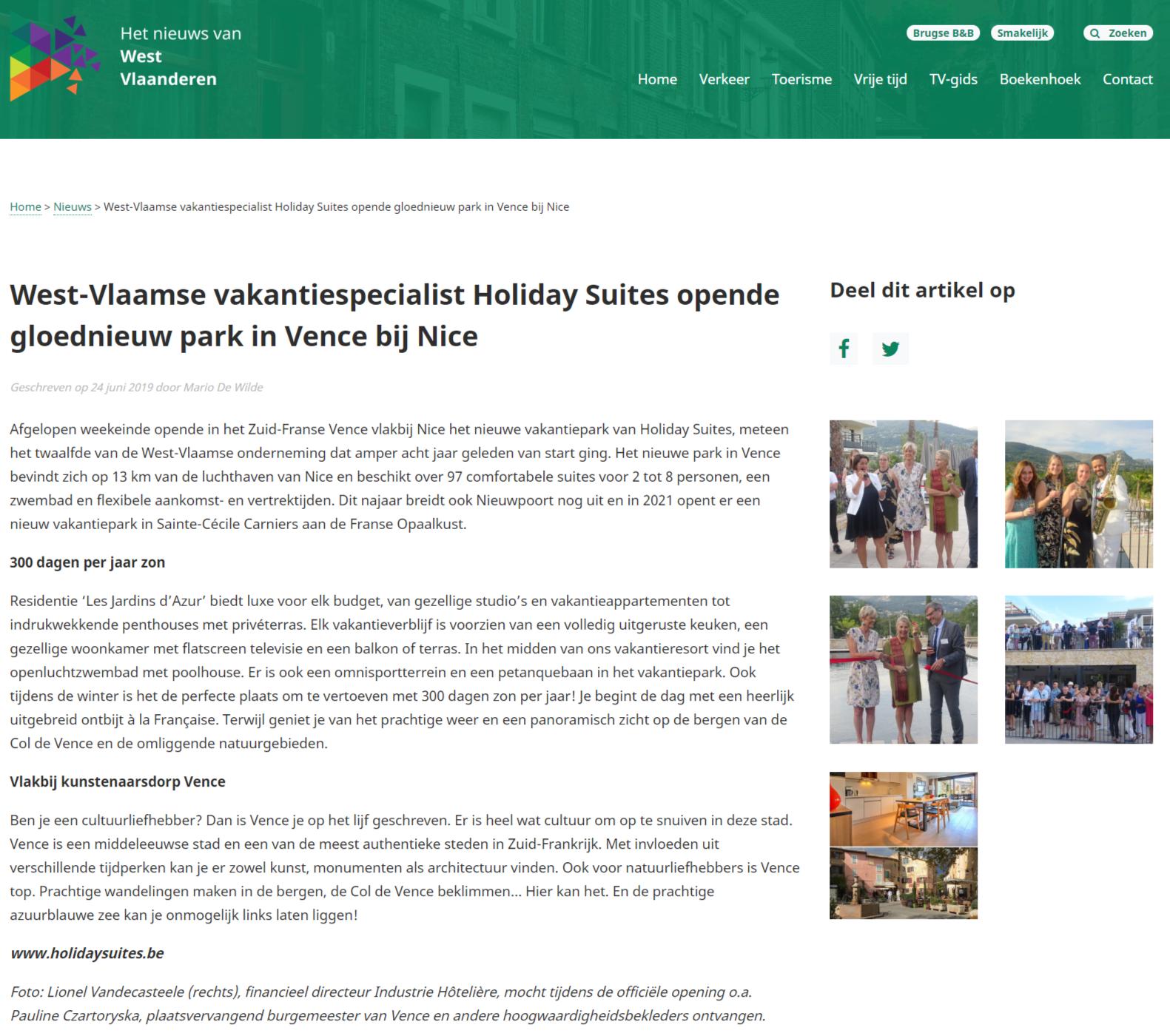 Nieuws van West-Vlaanderen