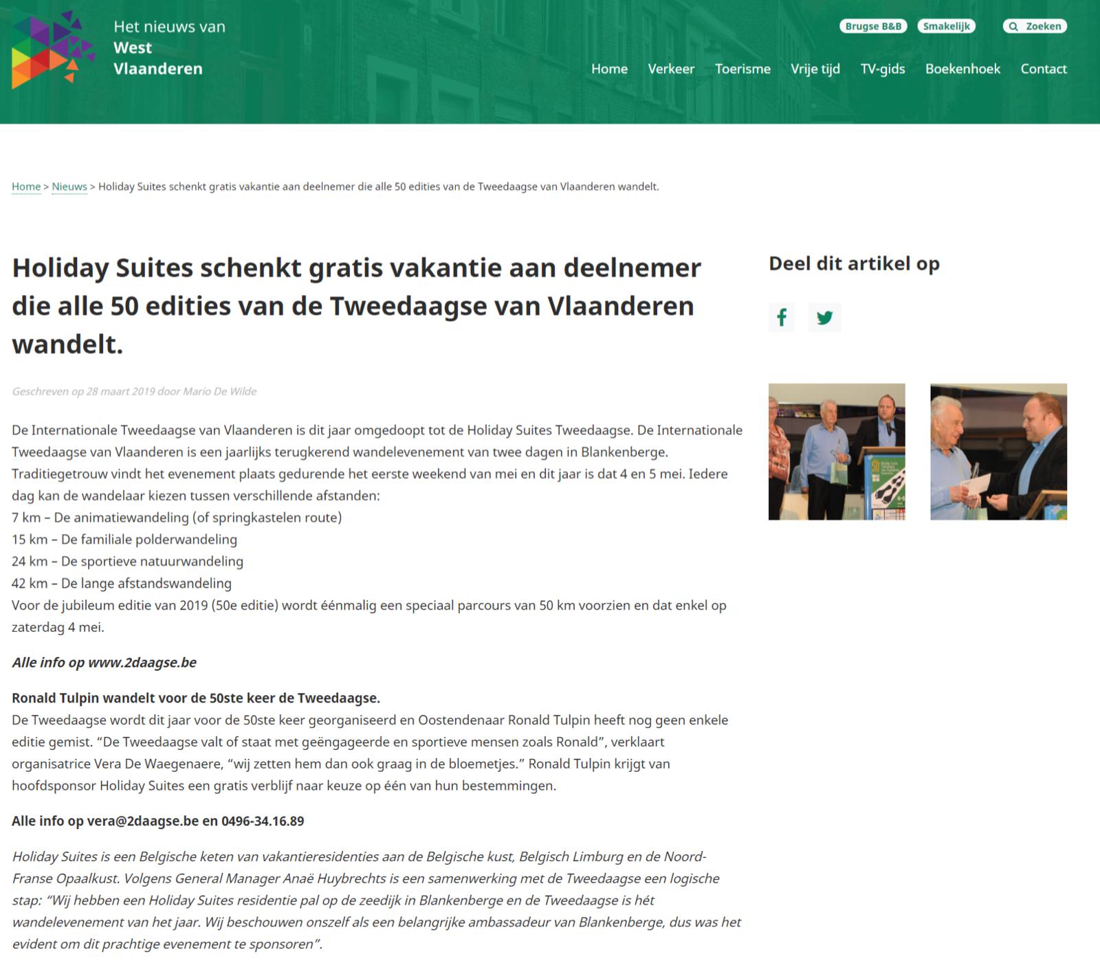 Tweedaagse Nieuws van West-Vlaanderen