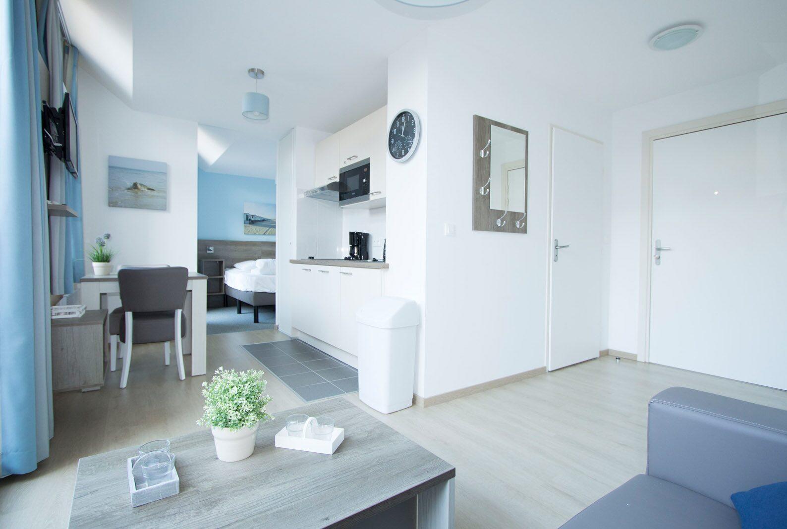 Comfortabele appartementen voor maximaal 4 personen
