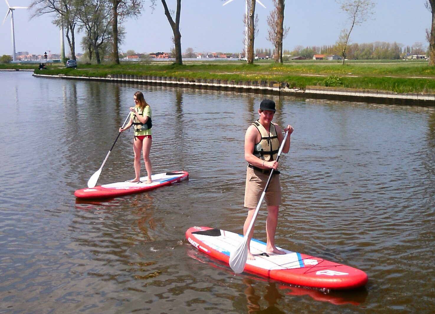 Watersportarrangement: kajak/kano/SUP + Speeldorp